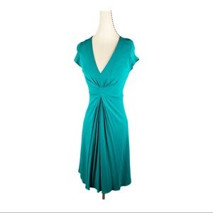 Banana Republic Issa London Green A-Line Dress